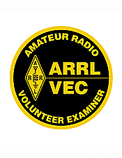 Volunteer Examiner Patch Round
