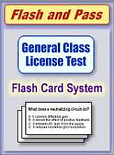 General Class Flash Card Set