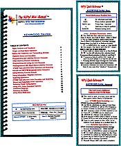 Kenwood TH-F6A/F7E Mini-Manual and Card Combo