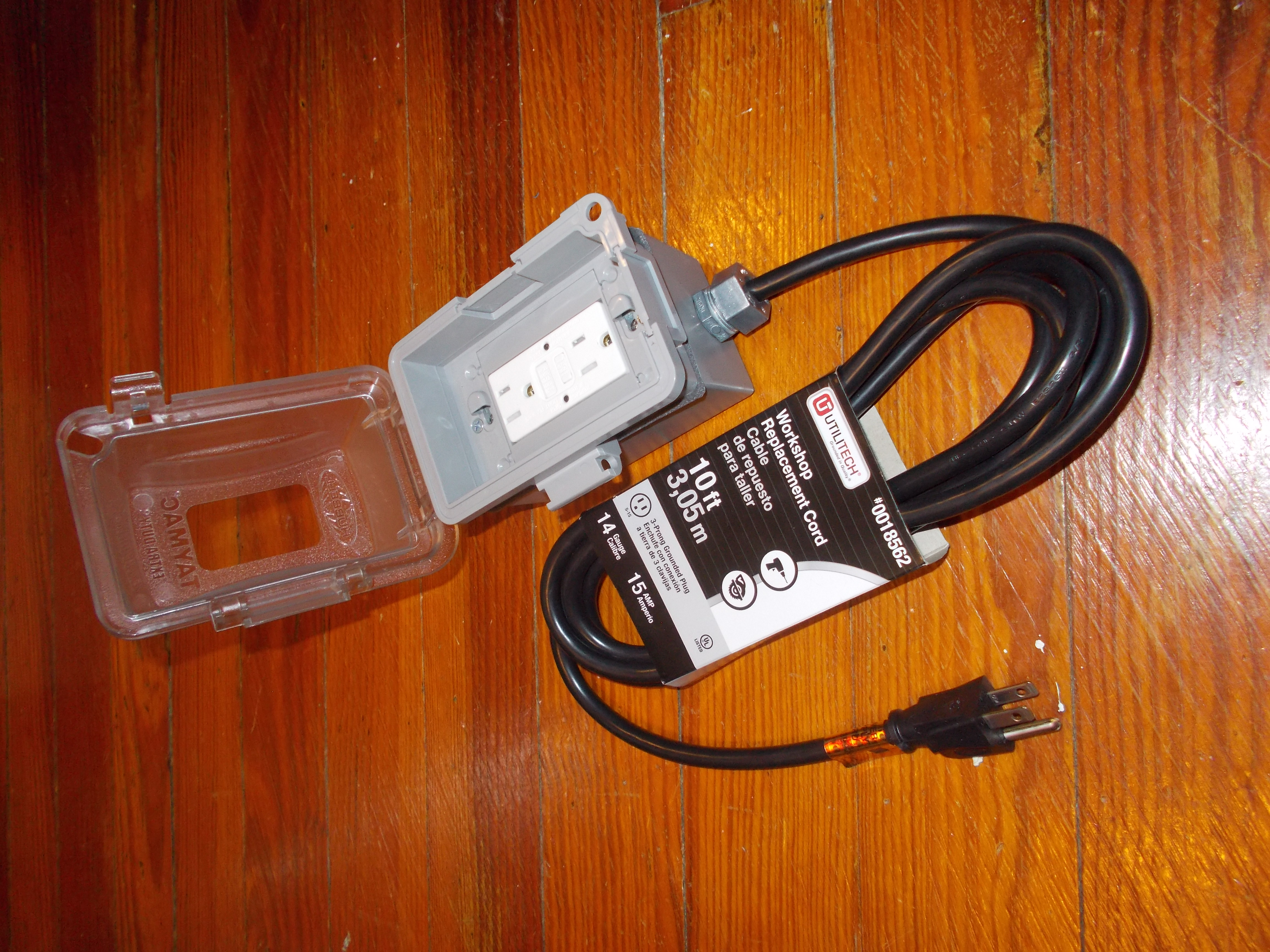 Grounding And Bonding For The Amateur How To Wire An Electrical Gfci Outlet Wiring As Well This Box Is Sealed Has A Waterproof Cable Entry Installing Receptacle