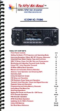 Icom IC-7600 Mini-Manual