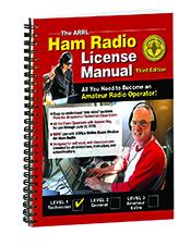 ARRL Ham Radio License Manual Spiral Bound