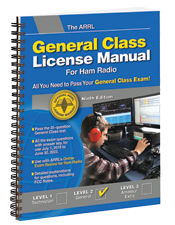 ARRL General Class License Manual 9th Edition (Spiral Bound)