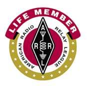 ARRL Life Member Decal