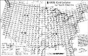 ARRL Grid Locator for North America