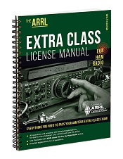 ARRL Extra Class License Manual 12th Edition (Spiral Bound)