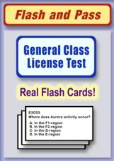 General Class Flash Card Set
