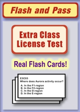 Extra Class Flash Card Set