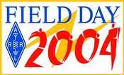 Field Day 2004 Pin
