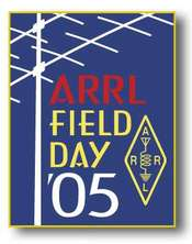 Field Day 2005 Pin