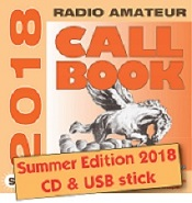 Radio Amateur Callbook CD-ROM (Summer 2018)