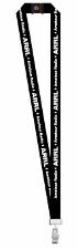 ARRL Call Sign Badge Lanyard (black)