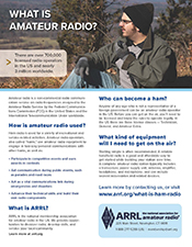 What is Amateur Radio flyer (download)