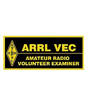 Volunteer Examiner Patch Rectangular