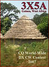 3X5A DXpedition to Guinea (DVD)