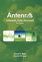 Antennas: Fundamentals, Design, Measurement