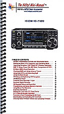 Icom IC-7300 Mini-Manual