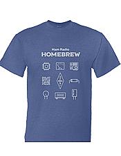 Ham Radio Homebrew T-Shirt