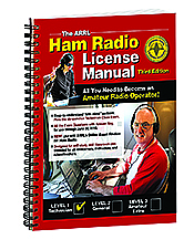 ARRL Ham Radio License Manual Spiral Bound