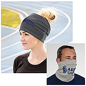 Bandana Head and Neck Wrap Gray