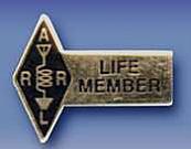 ARRL Life Member Pin