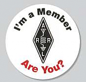 I'm a Member... Stickers (roll)