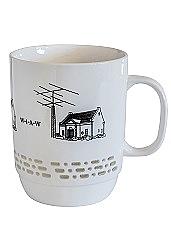 W1AW Morse Code Mug