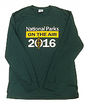 National Parks on the Air Long Sleeve Crew
