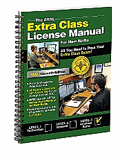 ARRL Extra Class License Manual Spiral Bound